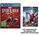 Marvel's Spider Man - Standard Edition - [PlayStation 4] + Spider-Man Homecoming Film