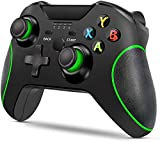 LIJJY Verbessertes Gamepad für Wireless Controller für Xbox One/One S/One X / PS3 / One Elite/Windows 10 | Doppelte Vibration